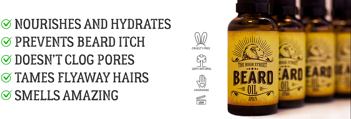 Beard care products that promote beard growth